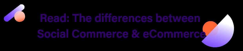 social commerce vs ecommerce blog