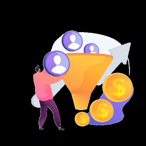 sales generation concept